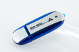 USB Stick Alu4 bedruckt mit Logo