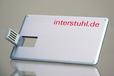 USB Stick CreditCard Alu bedruckt