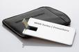 USB Stick CreditCard Alu mit Lasergravur